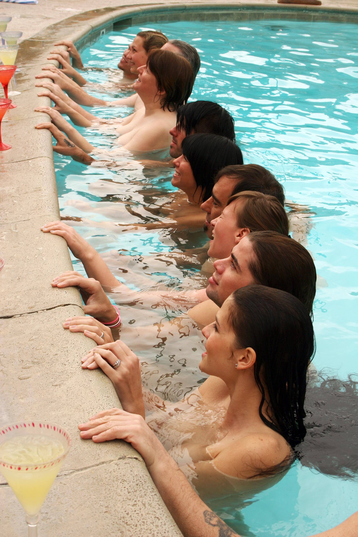 Girls spa day nude — photo 15